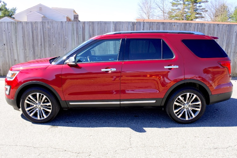 Used 2017 Ford Explorer Platinum 4WD Used 2017 Ford Explorer Platinum 4WD for sale  at Metro West Motorcars LLC in Shrewsbury MA 2