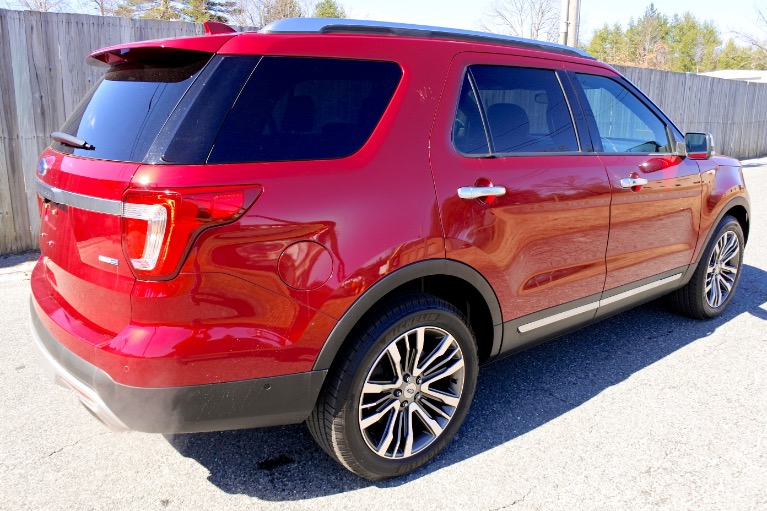 Used 2017 Ford Explorer Platinum 4WD Used 2017 Ford Explorer Platinum 4WD for sale  at Metro West Motorcars LLC in Shrewsbury MA 5