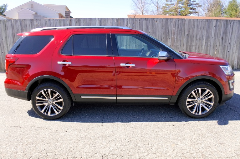 Used 2017 Ford Explorer Platinum 4WD Used 2017 Ford Explorer Platinum 4WD for sale  at Metro West Motorcars LLC in Shrewsbury MA 6