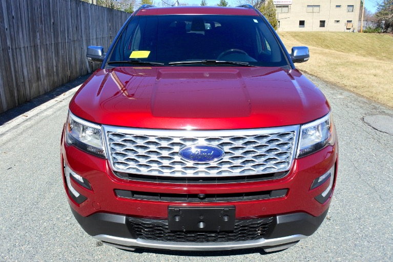 Used 2017 Ford Explorer Platinum 4WD Used 2017 Ford Explorer Platinum 4WD for sale  at Metro West Motorcars LLC in Shrewsbury MA 8