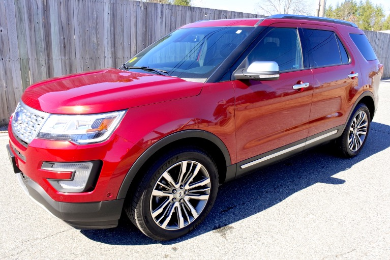 Used 2017 Ford Explorer Platinum 4WD Used 2017 Ford Explorer Platinum 4WD for sale  at Metro West Motorcars LLC in Shrewsbury MA 1