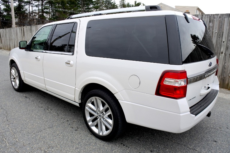 Used 2015 Ford Expedition El Limited 4WD Used 2015 Ford Expedition El Limited 4WD for sale  at Metro West Motorcars LLC in Shrewsbury MA 3
