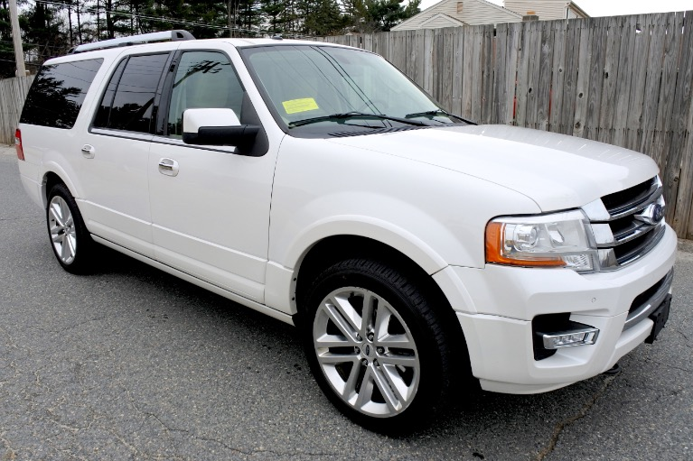 Used 2015 Ford Expedition El Limited 4WD Used 2015 Ford Expedition El Limited 4WD for sale  at Metro West Motorcars LLC in Shrewsbury MA 7
