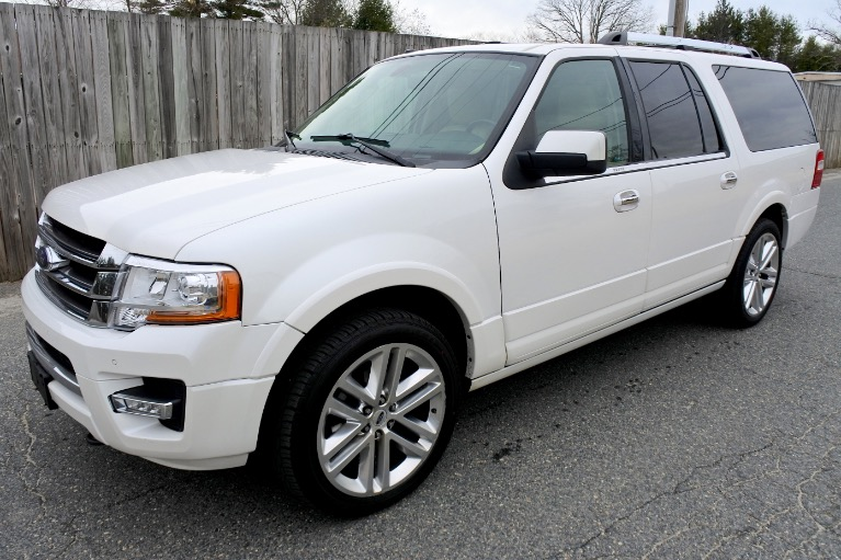 Used 2015 Ford Expedition El Limited 4WD Used 2015 Ford Expedition El Limited 4WD for sale  at Metro West Motorcars LLC in Shrewsbury MA 1
