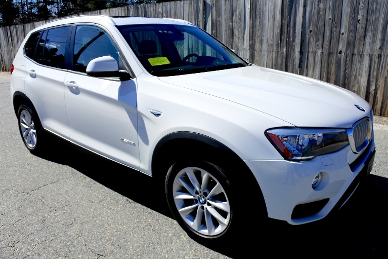 Used 2015 BMW X3 xDrive28i AWD Used 2015 BMW X3 xDrive28i AWD for sale  at Metro West Motorcars LLC in Shrewsbury MA 7