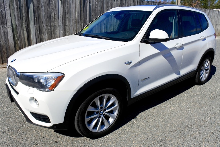 Used Used 2015 BMW X3 xDrive28i AWD for sale $14,800 at Metro West Motorcars LLC in Shrewsbury MA