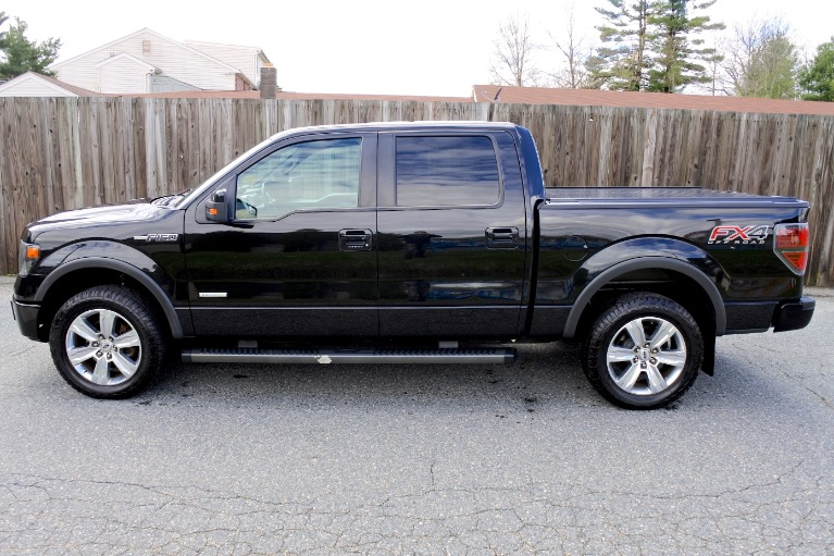 Used 2013 Ford F-150 4WD SuperCrew 157' FX4 Used 2013 Ford F-150 4WD SuperCrew 157' FX4 for sale  at Metro West Motorcars LLC in Shrewsbury MA 2