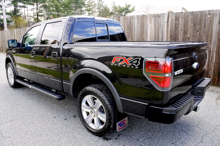 Used 2013 Ford F-150 4WD SuperCrew 157' FX4 Used 2013 Ford F-150 4WD SuperCrew 157' FX4 for sale  at Metro West Motorcars LLC in Shrewsbury MA 3