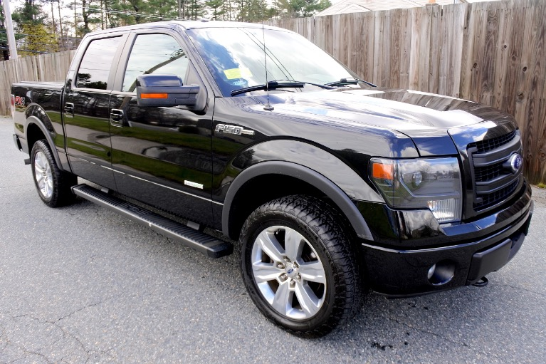 Used 2013 Ford F-150 4WD SuperCrew 157' FX4 Used 2013 Ford F-150 4WD SuperCrew 157' FX4 for sale  at Metro West Motorcars LLC in Shrewsbury MA 7