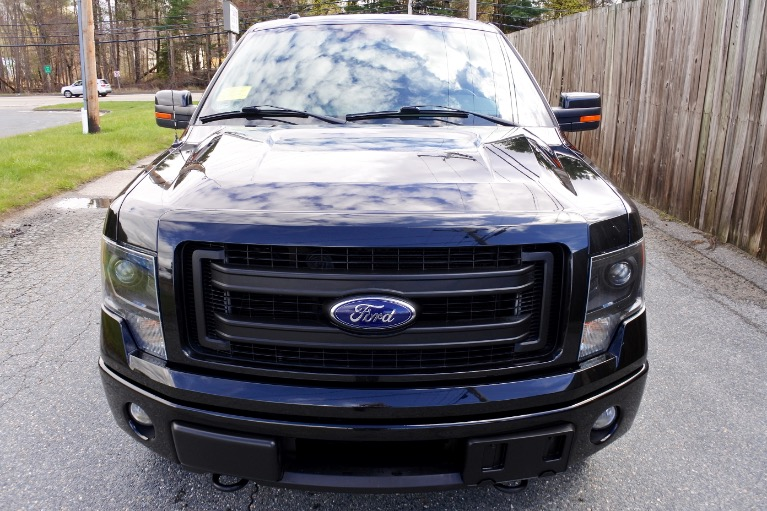 Used 2013 Ford F-150 4WD SuperCrew 157' FX4 Used 2013 Ford F-150 4WD SuperCrew 157' FX4 for sale  at Metro West Motorcars LLC in Shrewsbury MA 8