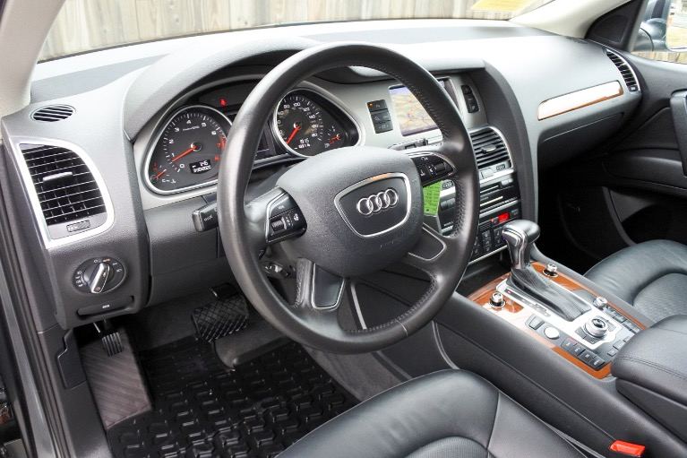 Used 2015 Audi Q7 3.0T S line Prestige Quattro Used 2015 Audi Q7 3.0T S line Prestige Quattro for sale  at Metro West Motorcars LLC in Shrewsbury MA 13
