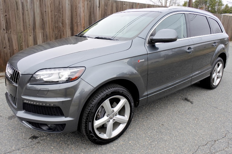Used Used 2015 Audi Q7 3.0T S line Prestige Quattro for sale $17,800 at Metro West Motorcars LLC in Shrewsbury MA