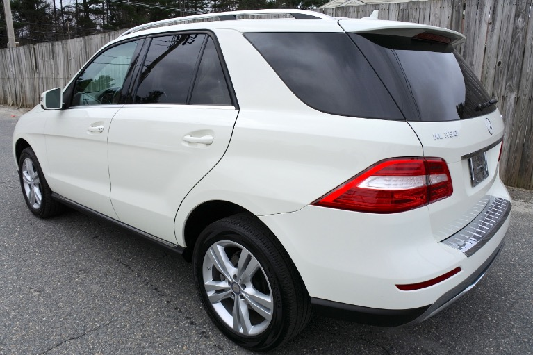 Used 2013 Mercedes-Benz M-class ML350 4MATIC Used 2013 Mercedes-Benz M-class ML350 4MATIC for sale  at Metro West Motorcars LLC in Shrewsbury MA 3