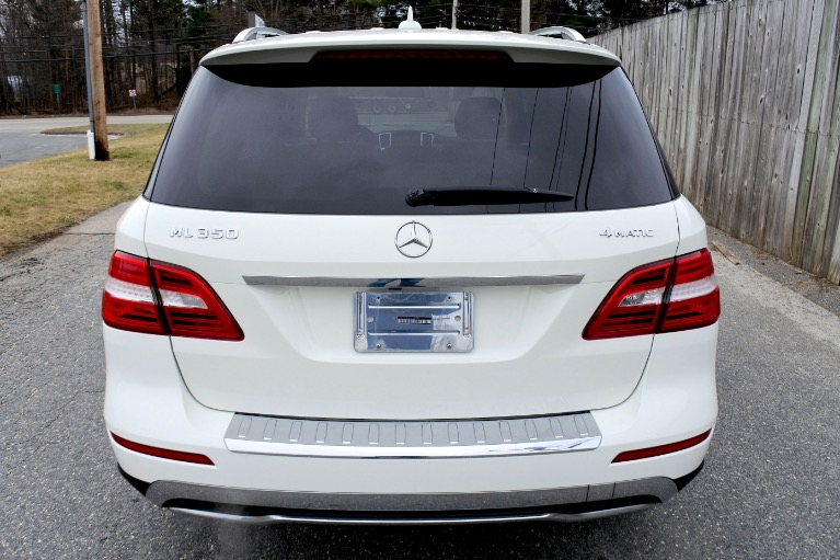 Used 2013 Mercedes-Benz M-class ML350 4MATIC Used 2013 Mercedes-Benz M-class ML350 4MATIC for sale  at Metro West Motorcars LLC in Shrewsbury MA 4