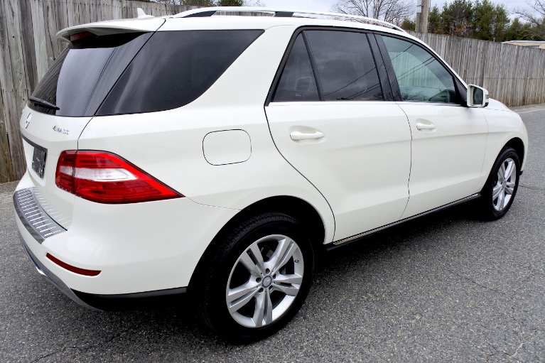 Used 2013 Mercedes-Benz M-class ML350 4MATIC Used 2013 Mercedes-Benz M-class ML350 4MATIC for sale  at Metro West Motorcars LLC in Shrewsbury MA 5