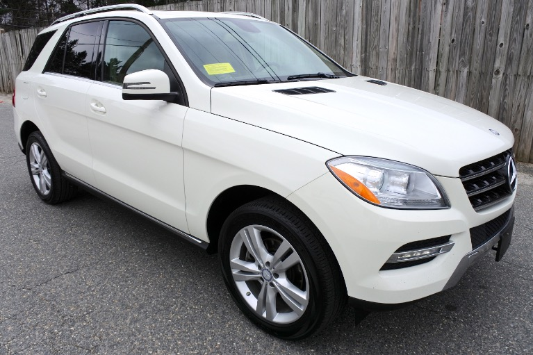 Used 2013 Mercedes-Benz M-class ML350 4MATIC Used 2013 Mercedes-Benz M-class ML350 4MATIC for sale  at Metro West Motorcars LLC in Shrewsbury MA 7
