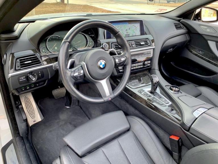 Used 2017 BMW 6 Series 650i xDrive Convertible Used 2017 BMW 6 Series 650i xDrive Convertible for sale  at Metro West Motorcars LLC in Shrewsbury MA 13