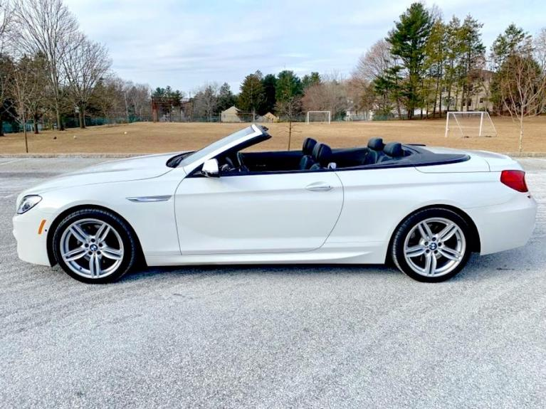 Used 2017 BMW 6 Series 650i xDrive Convertible Used 2017 BMW 6 Series 650i xDrive Convertible for sale  at Metro West Motorcars LLC in Shrewsbury MA 2