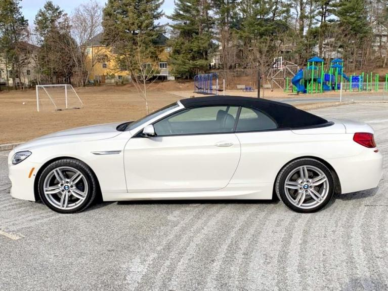 Used 2017 BMW 6 Series 650i xDrive Convertible Used 2017 BMW 6 Series 650i xDrive Convertible for sale  at Metro West Motorcars LLC in Shrewsbury MA 20