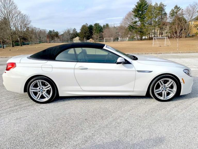 Used 2017 BMW 6 Series 650i xDrive Convertible Used 2017 BMW 6 Series 650i xDrive Convertible for sale  at Metro West Motorcars LLC in Shrewsbury MA 23