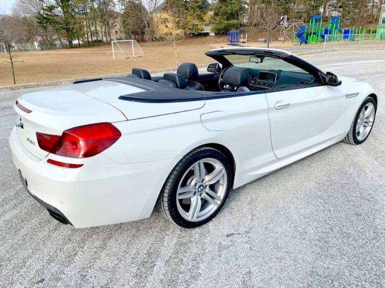 Used 2017 BMW 6 Series 650i xDrive Convertible Used 2017 BMW 6 Series 650i xDrive Convertible for sale  at Metro West Motorcars LLC in Shrewsbury MA 5