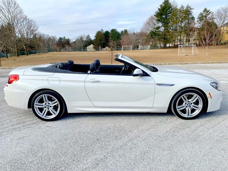 Used 2017 BMW 6 Series 650i xDrive Convertible Used 2017 BMW 6 Series 650i xDrive Convertible for sale  at Metro West Motorcars LLC in Shrewsbury MA 6