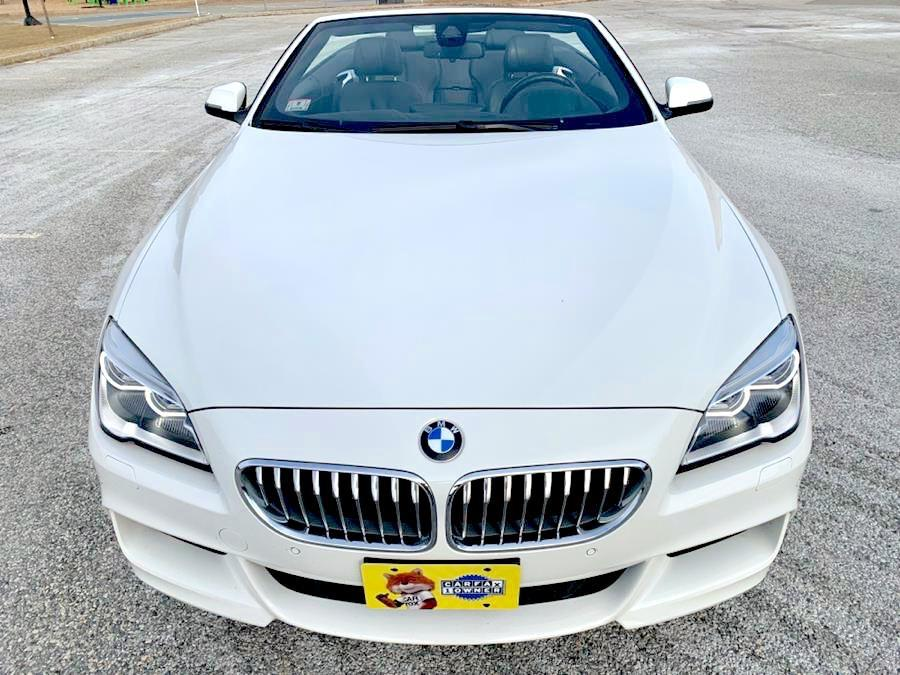 Used 2017 BMW 6 Series 650i xDrive Convertible Used 2017 BMW 6 Series 650i xDrive Convertible for sale  at Metro West Motorcars LLC in Shrewsbury MA 8