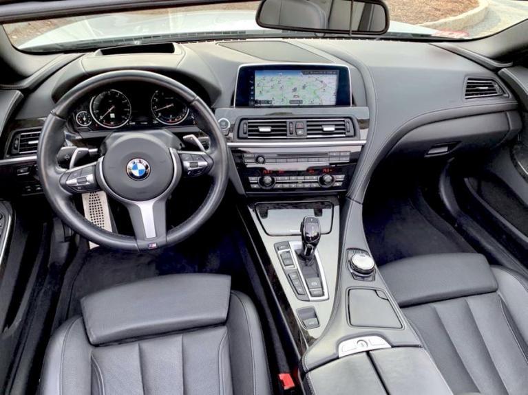 Used 2017 BMW 6 Series 650i xDrive Convertible Used 2017 BMW 6 Series 650i xDrive Convertible for sale  at Metro West Motorcars LLC in Shrewsbury MA 9