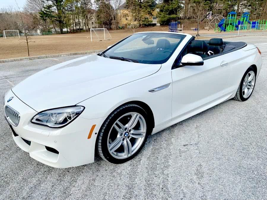 Used 2017 BMW 6 Series 650i xDrive Convertible Used 2017 BMW 6 Series 650i xDrive Convertible for sale  at Metro West Motorcars LLC in Shrewsbury MA 1