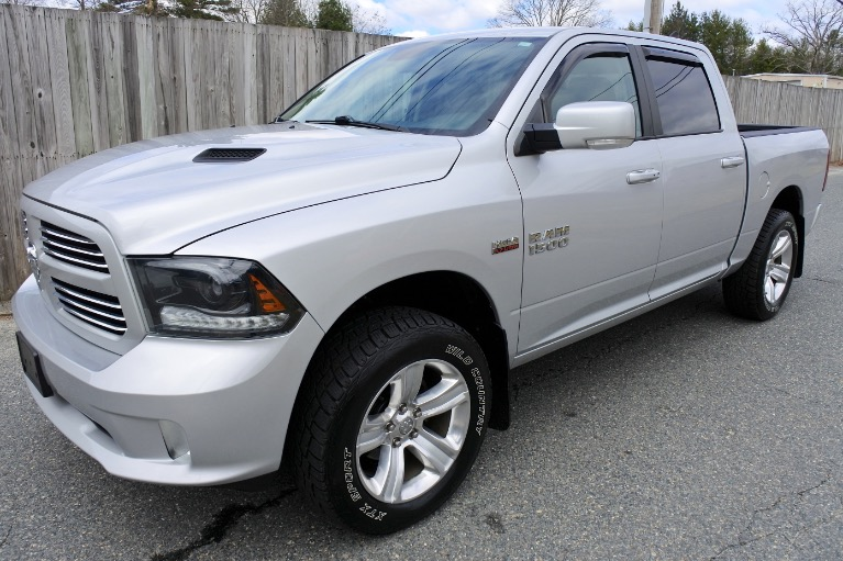 Used Used 2015 Ram 1500 4WD Crew Cab 140.5' Sport for sale $23,800 at Metro West Motorcars LLC in Shrewsbury MA