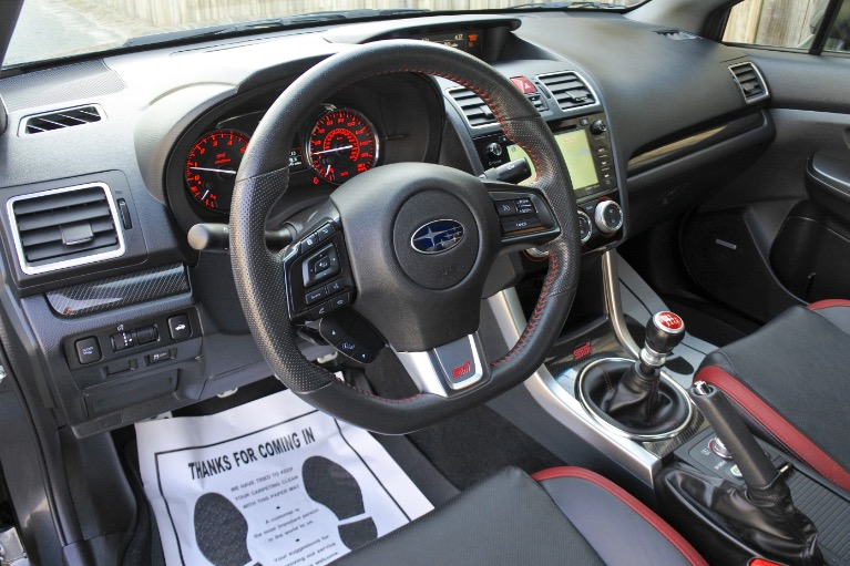 Used 2016 Subaru Wrx Sti Limited w/Wing Spoiler Used 2016 Subaru Wrx Sti Limited w/Wing Spoiler for sale  at Metro West Motorcars LLC in Shrewsbury MA 13