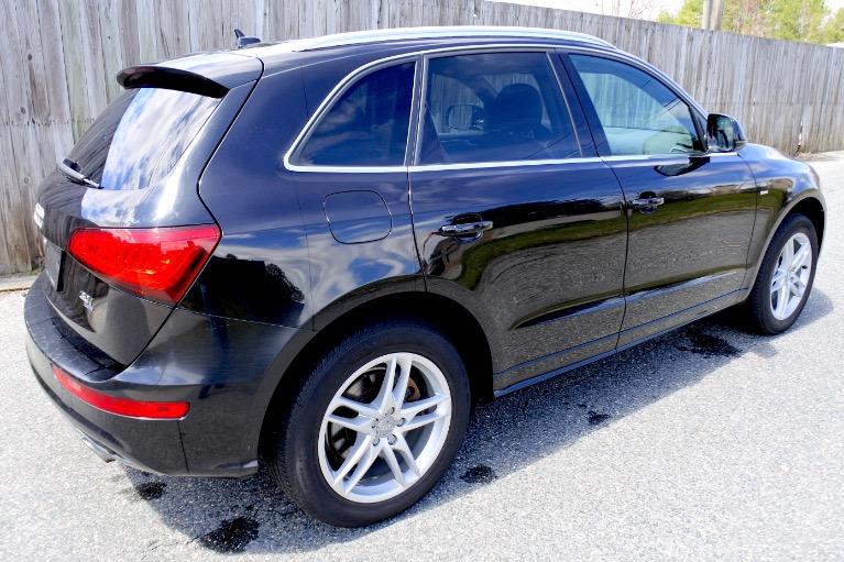 Used 2013 Audi Q5 3.0T Premium Plus Quattro Used 2013 Audi Q5 3.0T Premium Plus Quattro for sale  at Metro West Motorcars LLC in Shrewsbury MA 5
