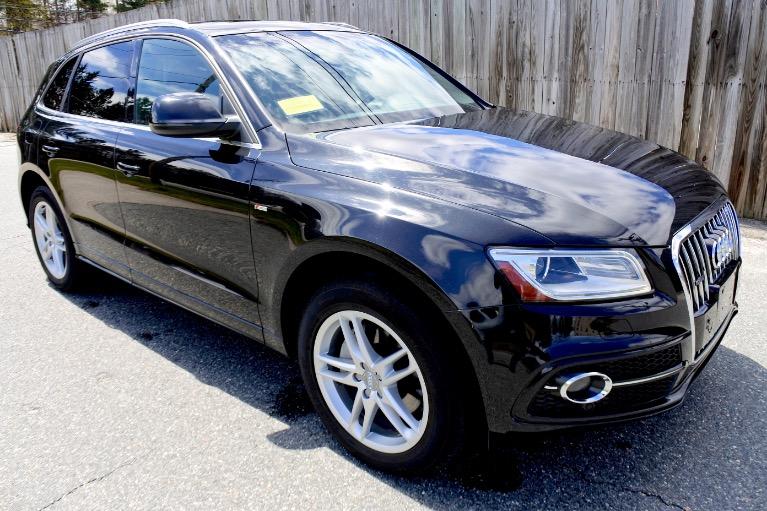 Used 2013 Audi Q5 3.0T Premium Plus Quattro Used 2013 Audi Q5 3.0T Premium Plus Quattro for sale  at Metro West Motorcars LLC in Shrewsbury MA 7