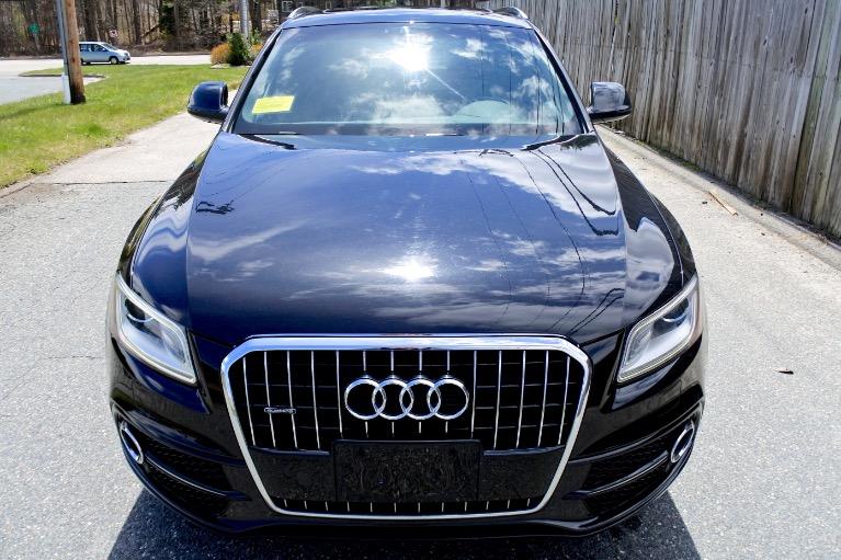 Used 2013 Audi Q5 3.0T Premium Plus Quattro Used 2013 Audi Q5 3.0T Premium Plus Quattro for sale  at Metro West Motorcars LLC in Shrewsbury MA 8
