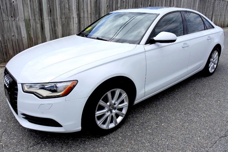 Used Used 2014 Audi A6 2.0T Premium Plus quattro for sale $13,800 at Metro West Motorcars LLC in Shrewsbury MA