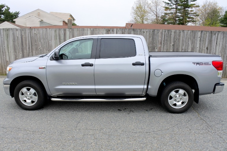 Used 2013 Toyota Tundra 4wd Truck CrewMax 5.7L V8 6-Spd AT (Natl) Used 2013 Toyota Tundra 4wd Truck CrewMax 5.7L V8 6-Spd AT (Natl) for sale  at Metro West Motorcars LLC in Shrewsbury MA 2
