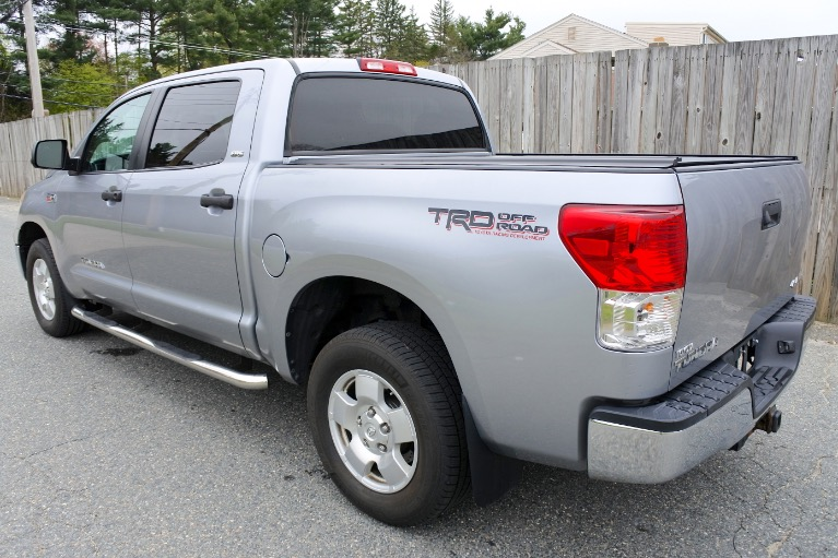 Used 2013 Toyota Tundra 4wd Truck CrewMax 5.7L V8 6-Spd AT (Natl) Used 2013 Toyota Tundra 4wd Truck CrewMax 5.7L V8 6-Spd AT (Natl) for sale  at Metro West Motorcars LLC in Shrewsbury MA 3