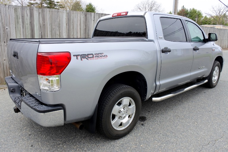 Used 2013 Toyota Tundra 4wd Truck CrewMax 5.7L V8 6-Spd AT (Natl) Used 2013 Toyota Tundra 4wd Truck CrewMax 5.7L V8 6-Spd AT (Natl) for sale  at Metro West Motorcars LLC in Shrewsbury MA 5