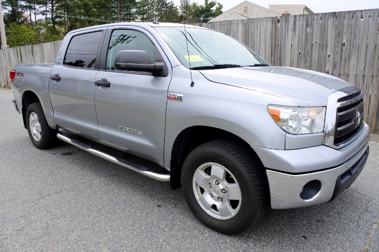 Used 2013 Toyota Tundra 4wd Truck CrewMax 5.7L V8 6-Spd AT (Natl) Used 2013 Toyota Tundra 4wd Truck CrewMax 5.7L V8 6-Spd AT (Natl) for sale  at Metro West Motorcars LLC in Shrewsbury MA 7