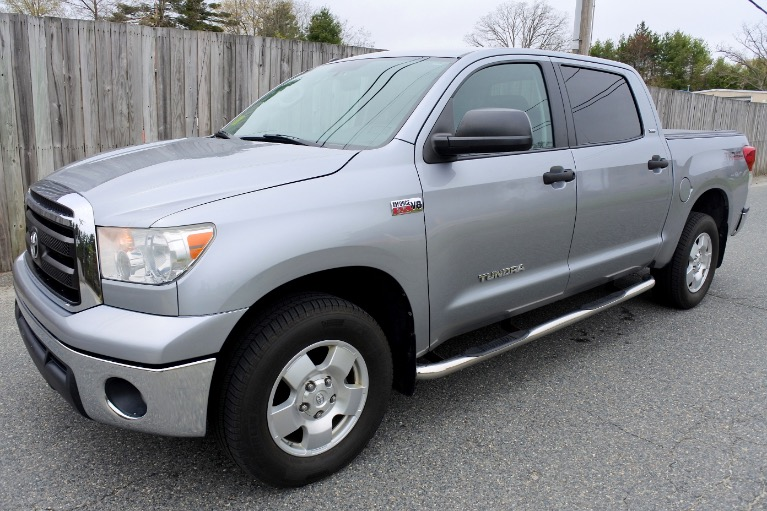 Used 2013 Toyota Tundra 4wd Truck CrewMax 5.7L V8 6-Spd AT (Natl) Used 2013 Toyota Tundra 4wd Truck CrewMax 5.7L V8 6-Spd AT (Natl) for sale  at Metro West Motorcars LLC in Shrewsbury MA 1