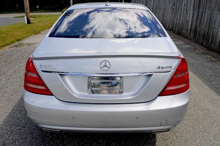 Used 2012 Mercedes-Benz S-class S550 4MATIC Used 2012 Mercedes-Benz S-class S550 4MATIC for sale  at Metro West Motorcars LLC in Shrewsbury MA 4