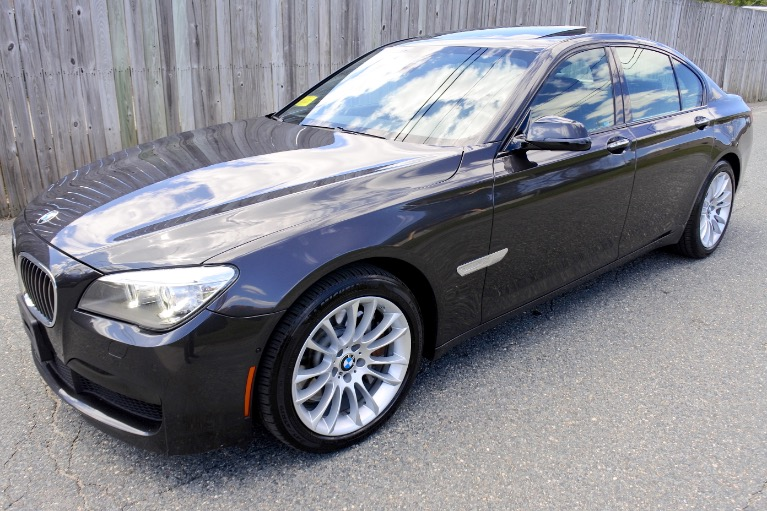 Used Used 2013 BMW 7 Series 750i xDrive AWD for sale $17,800 at Metro West Motorcars LLC in Shrewsbury MA