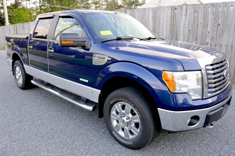 Used 2011 Ford F-150 4WD SuperCrew 145' XLT Used 2011 Ford F-150 4WD SuperCrew 145' XLT for sale  at Metro West Motorcars LLC in Shrewsbury MA 7