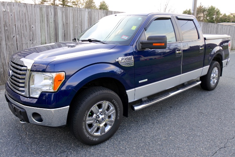 Used 2011 Ford F-150 4WD SuperCrew 145' XLT Used 2011 Ford F-150 4WD SuperCrew 145' XLT for sale  at Metro West Motorcars LLC in Shrewsbury MA 1