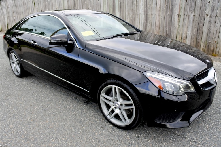 Used 2014 Mercedes-Benz E-class E 350 4MATIC Coupe Used 2014 Mercedes-Benz E-class E 350 4MATIC Coupe for sale  at Metro West Motorcars LLC in Shrewsbury MA 7