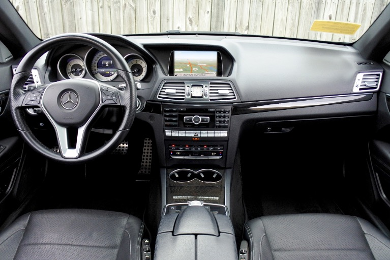Used 2014 Mercedes-Benz E-class E 350 4MATIC Coupe Used 2014 Mercedes-Benz E-class E 350 4MATIC Coupe for sale  at Metro West Motorcars LLC in Shrewsbury MA 9
