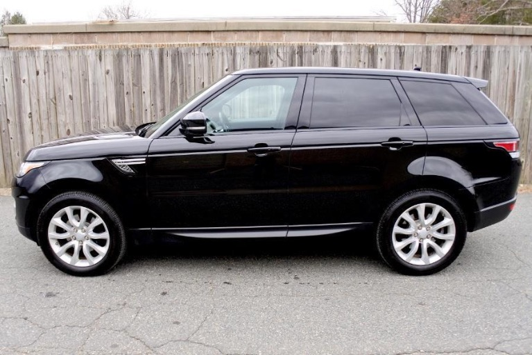 Used 2016 Land Rover Range Rover Sport HSE 4WD Used 2016 Land Rover Range Rover Sport HSE 4WD for sale  at Metro West Motorcars LLC in Shrewsbury MA 2