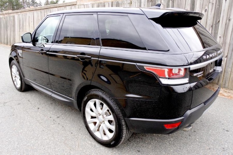 Used 2016 Land Rover Range Rover Sport HSE 4WD Used 2016 Land Rover Range Rover Sport HSE 4WD for sale  at Metro West Motorcars LLC in Shrewsbury MA 3