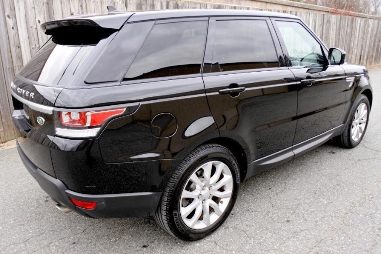 Used 2016 Land Rover Range Rover Sport HSE 4WD Used 2016 Land Rover Range Rover Sport HSE 4WD for sale  at Metro West Motorcars LLC in Shrewsbury MA 5