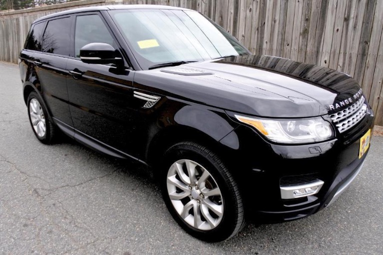 Used 2016 Land Rover Range Rover Sport HSE 4WD Used 2016 Land Rover Range Rover Sport HSE 4WD for sale  at Metro West Motorcars LLC in Shrewsbury MA 7
